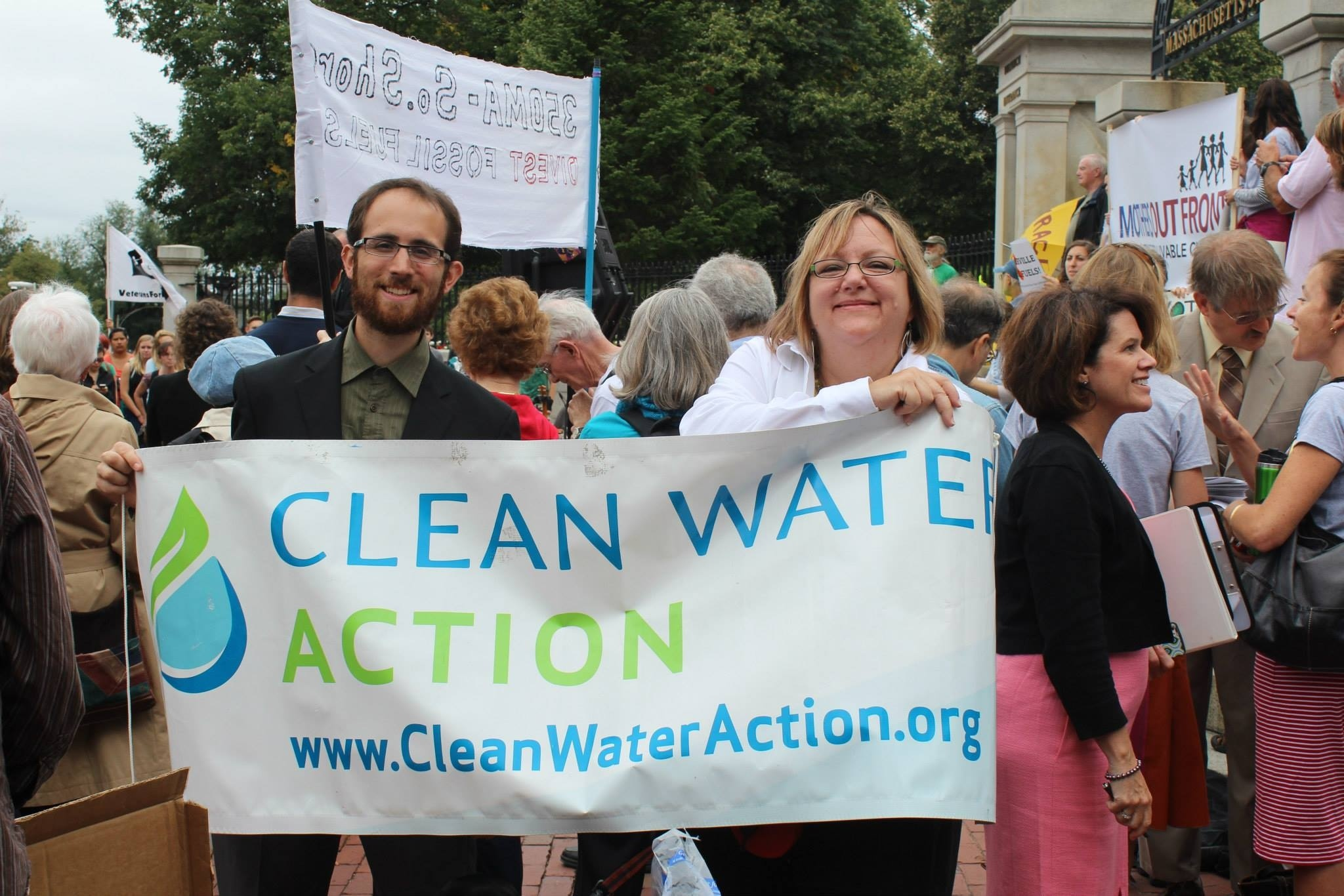 cwa banner at rally joel and cindy.jpg