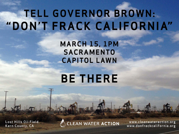 Don't Frack California! Rally