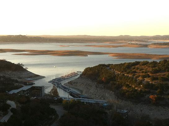 Lake Travis at 41% of capacity