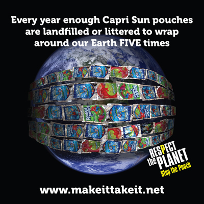 Tell KRAFT - Dump the Pouch!