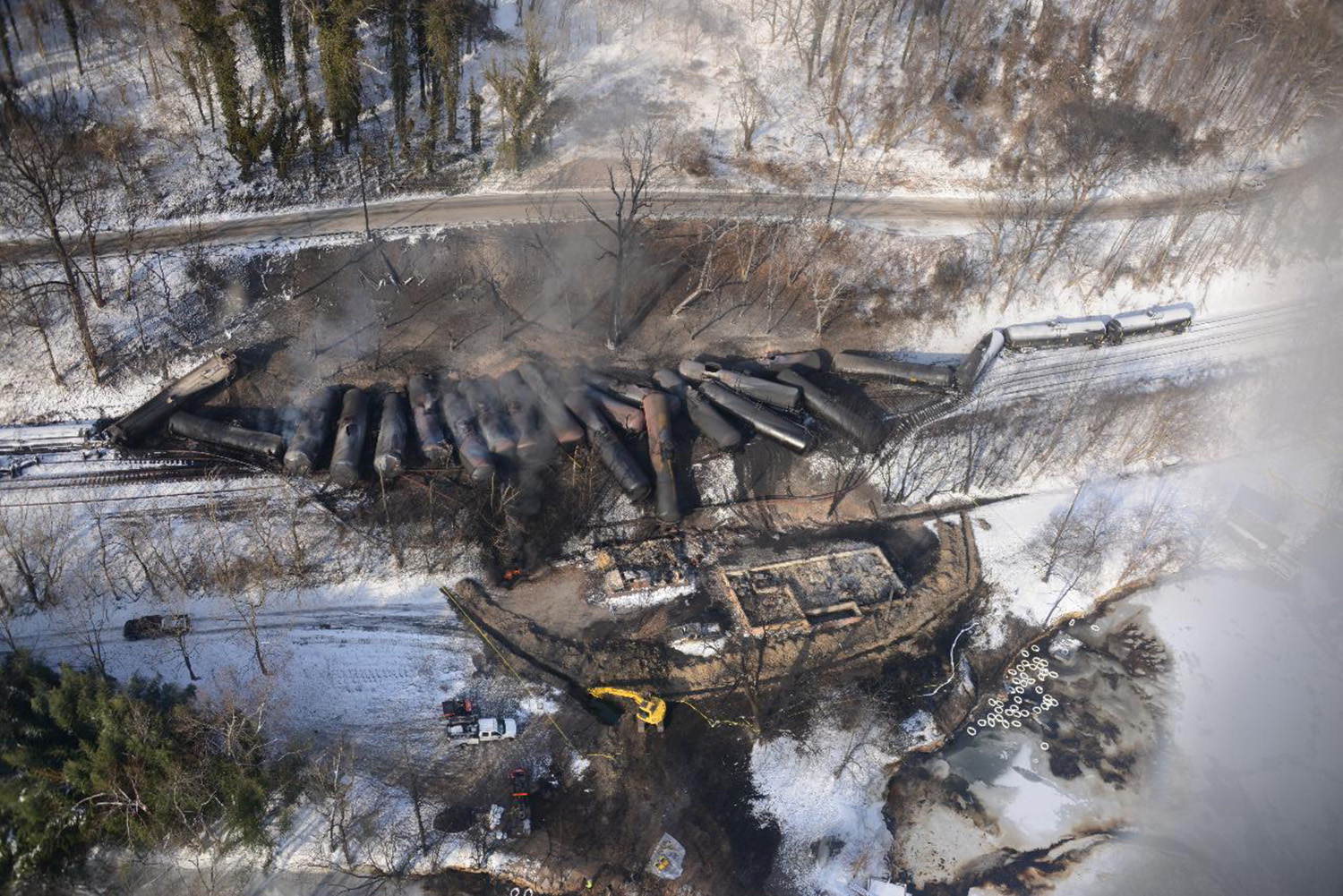 oil train derailment WV