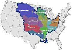 Graphic: Map of Lower Mississippi Basin