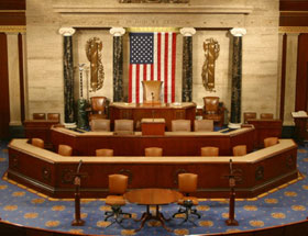Empty House Chamber