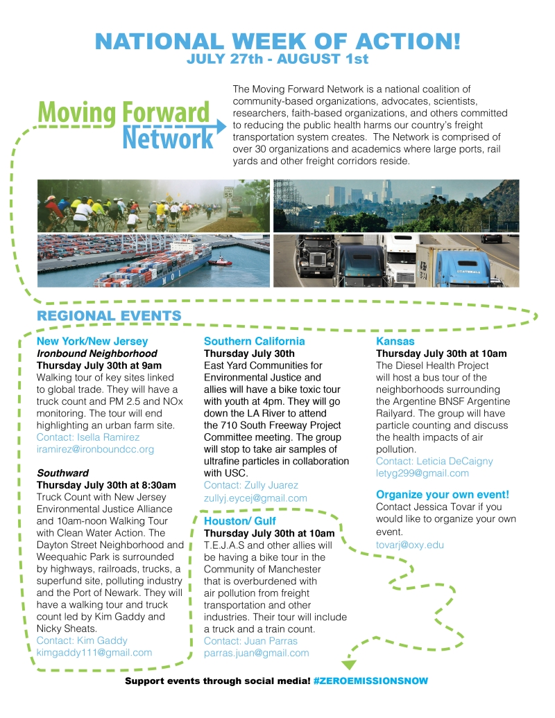 Moving Forward Network National Week of Action