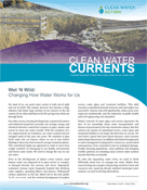 Clean Water Currents Winter 2009 cover