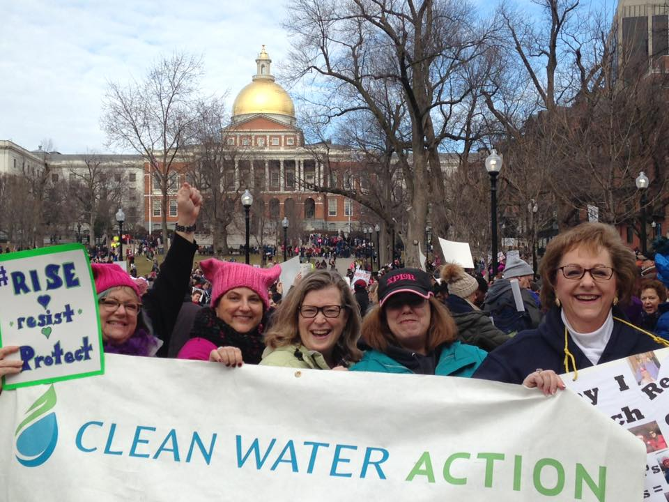 Boston Women's March at the Statehouse