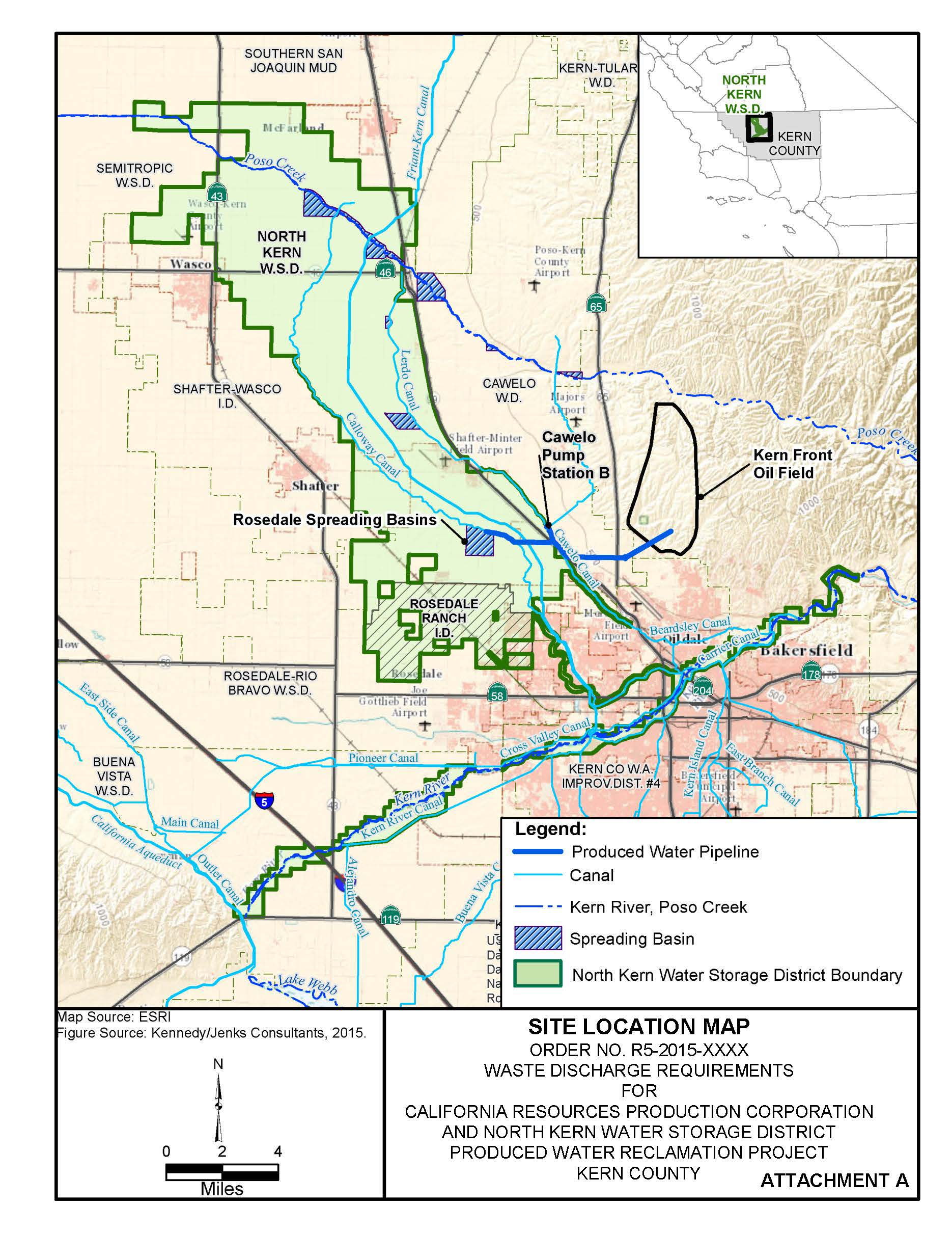 Site Location Map - California Resources Corporation