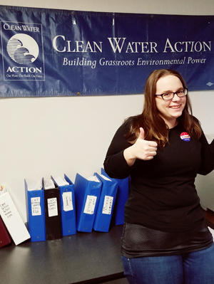 Sarah Carter, Clean Water Action Financial Office