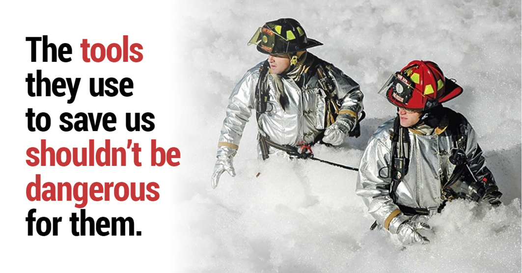 Protecting firefighrers from toxic PFAS