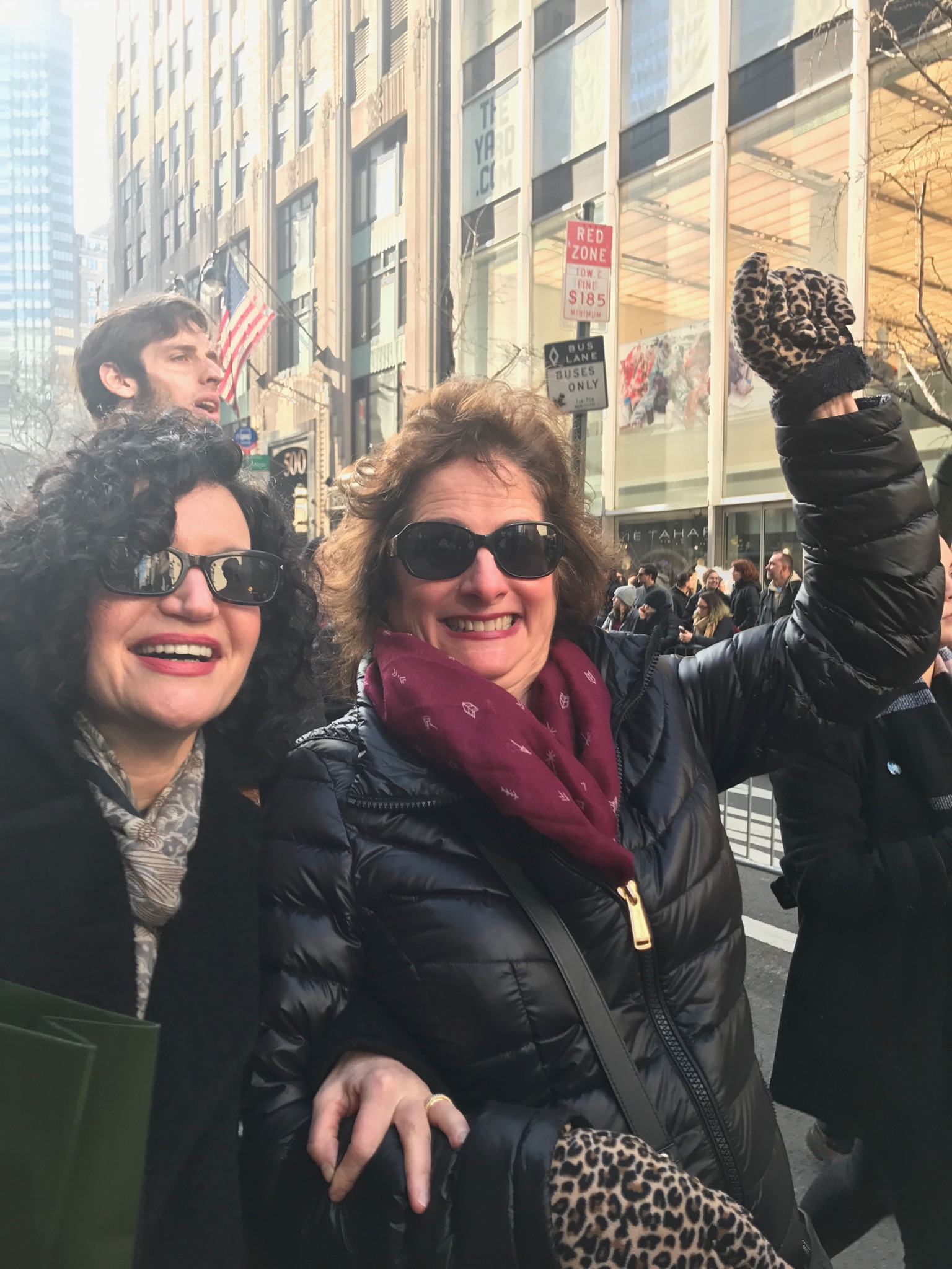 women's march nyc by janet tauro