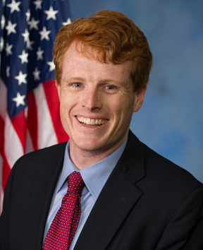 Representative Joe Kennedy III (D, MA4). Courtesy of his office