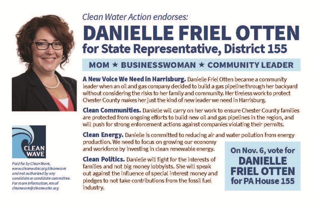 Denielle Friel Otten for PA House District 155