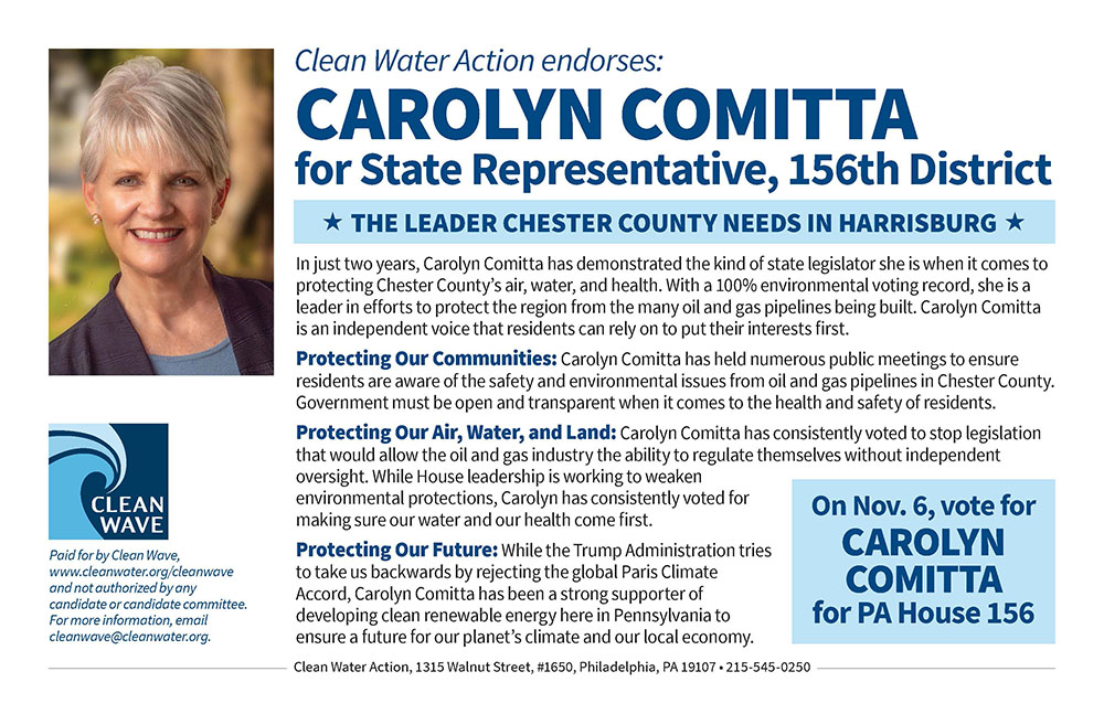 Carolyn Comitta for State Rep., 156th District (PA)