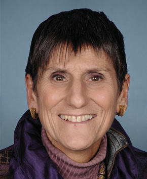Representative Rosa DeLauro (D, CT3). Courtesy of her office