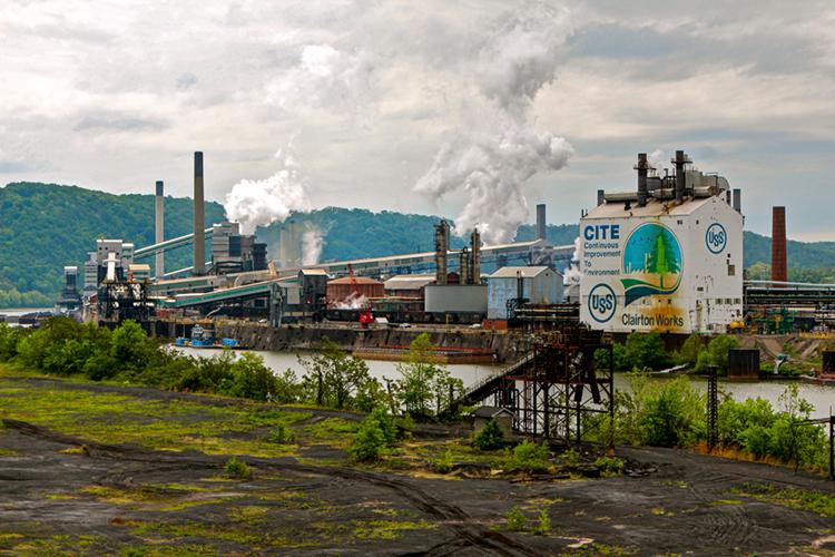 US Steel Clariton Work. Credit Roy Luck CC