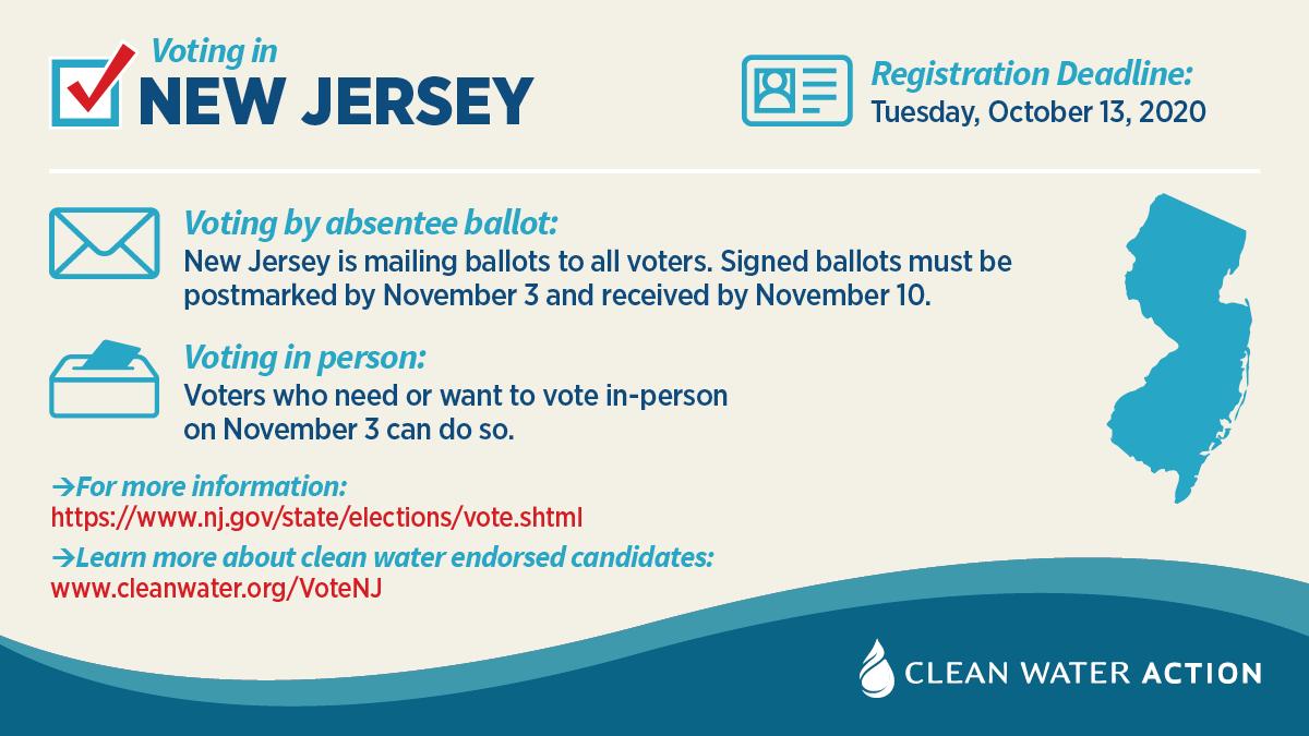 New Jersey voter information