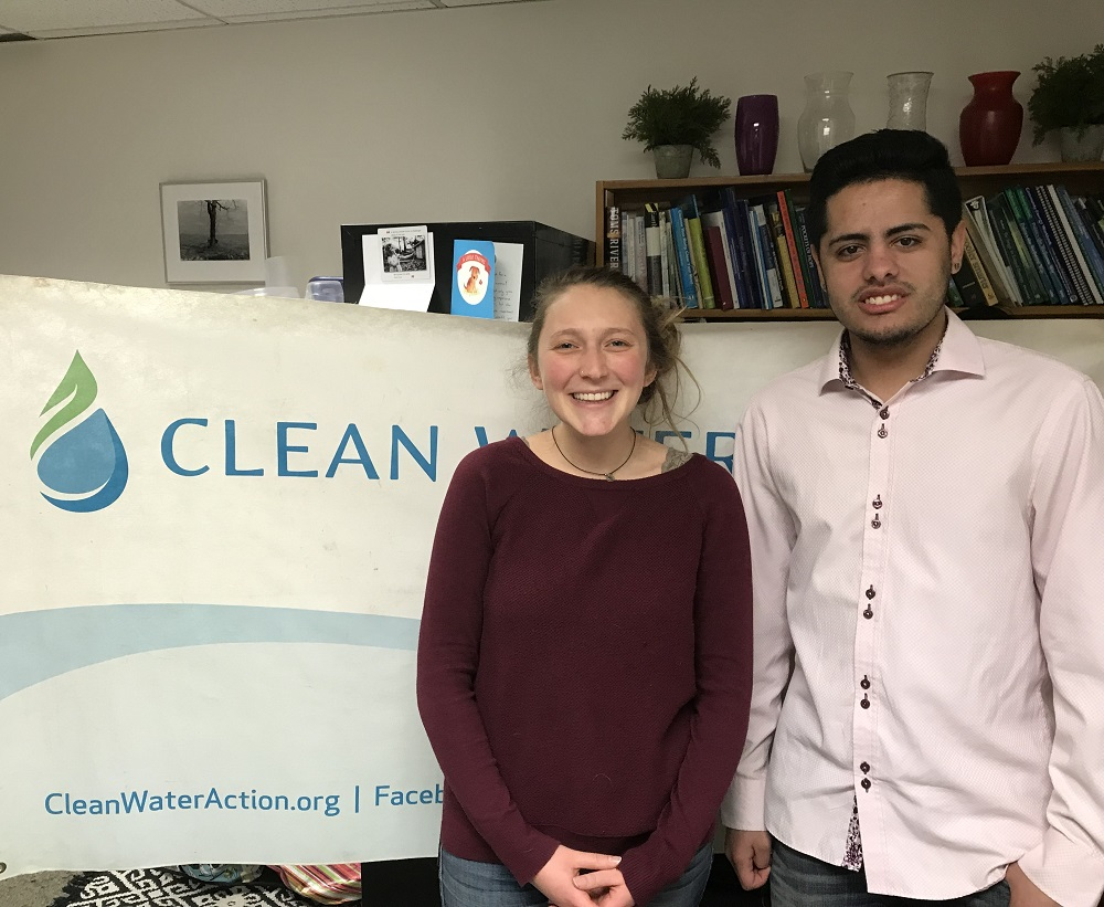 Ian and Tova, Massachusetts 2018 Interns