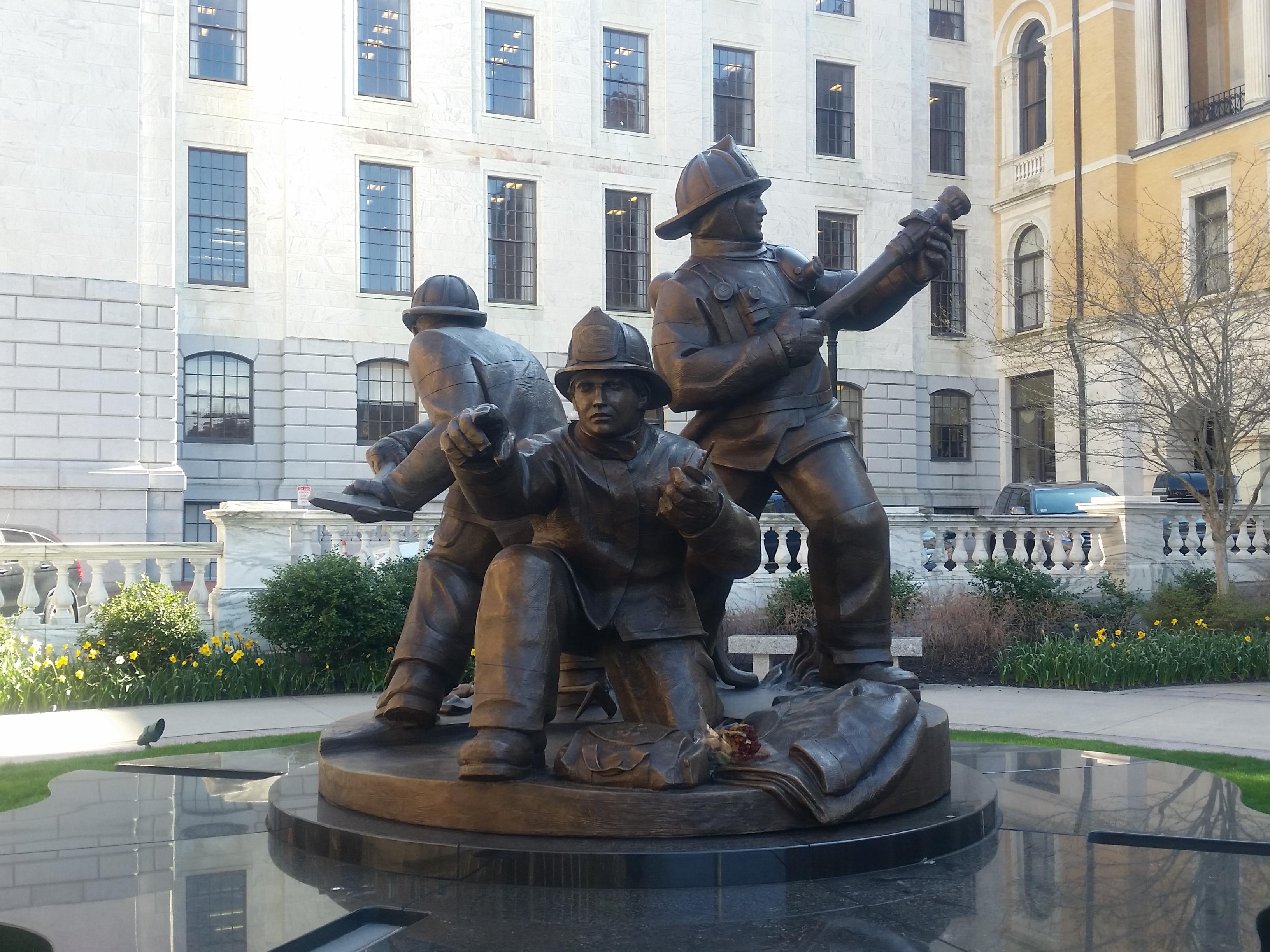 MA Fallen Firefighters Memoral