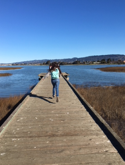 Madison Park student on field trip to MLK shoreline