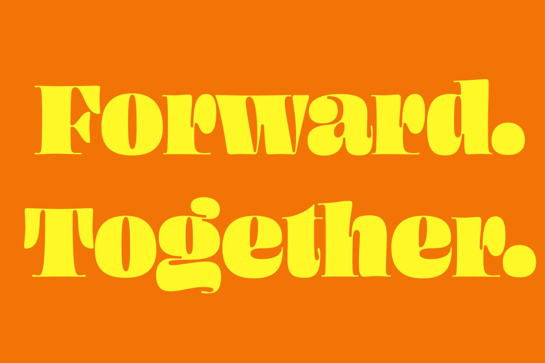 Forward. Together.