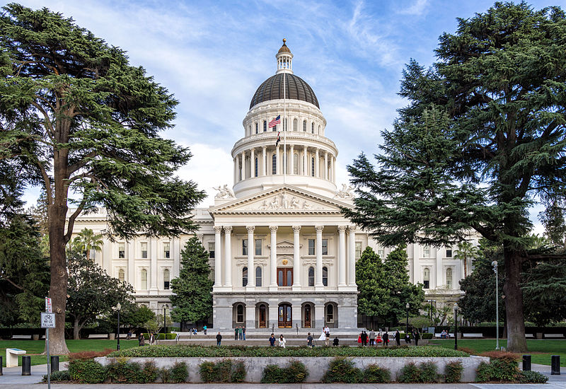 Sacramento, California capitol building