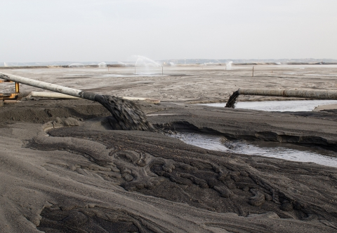 Coal ash pollution