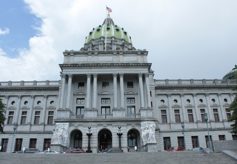 Pennsylvania Capitol, photo: Clean Water Action