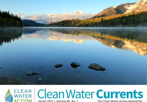 Clean Water Currents   Spring 2016