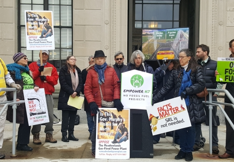 Empower NJ - Stop Fossil Fuels Press Conference: Statement