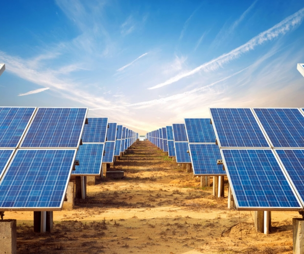 Solar installation. Photo credit :gyn9037 / Shutterstock