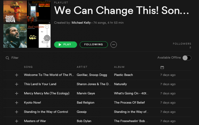Check out our spotify playlist!