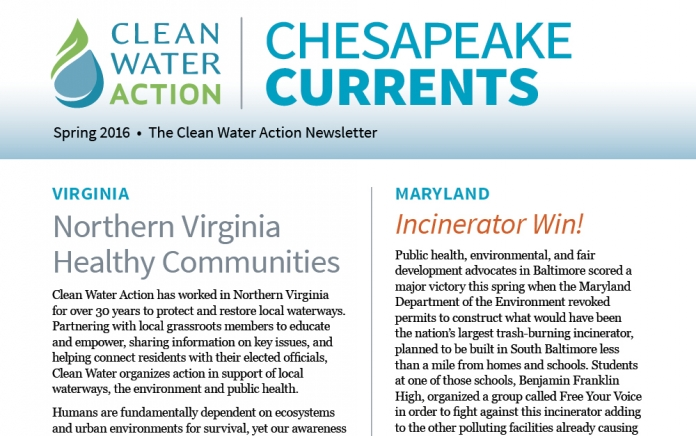 Chesapeake Currents - Spring | Summer 2016