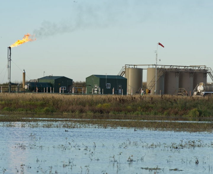 Fracking operations in North Dakota