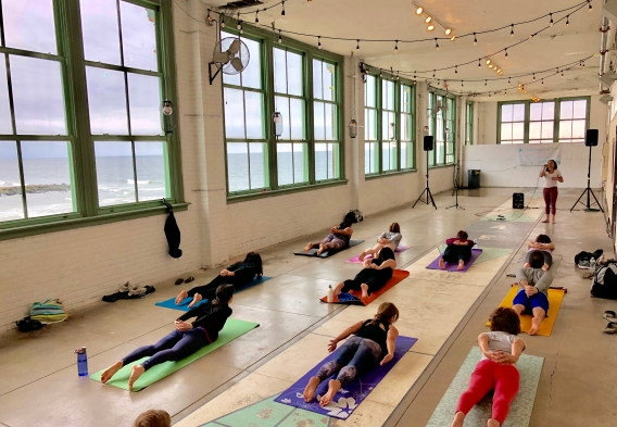 Yoga Fundraiser_NewJersey_2018_CleanWaterAction_Photo by Jenny Vickers Chyb