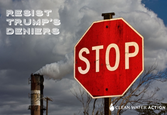 Stop Trumps' Deniers. Original photo credit: Shawn Hempel / Shutterstock