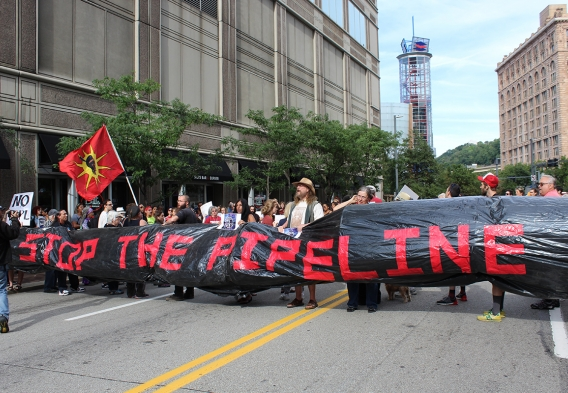 Stop the Pipeline / Photo: Clean Water Action