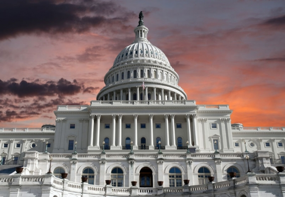 US Capitol Building at sunrise. Photo credit: trekandshoot/Shutterstock