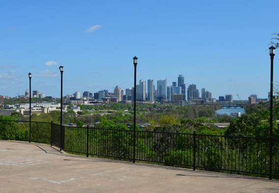 View from the Zilker Clubhouse / photo: City of Austin