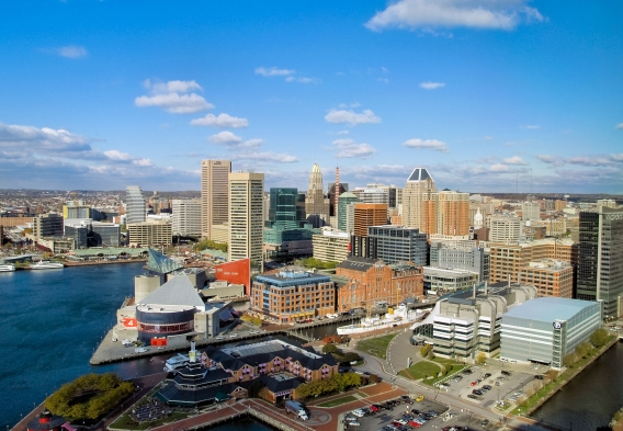 General MD Baltimore Harbor. Credit HES Photography. Shutterstock