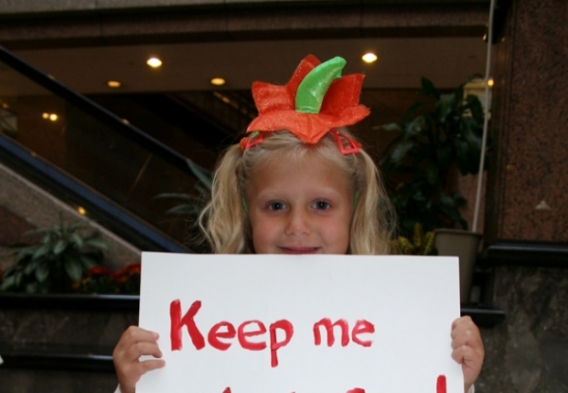 Lobbying for chemical reform. Photo credit: Clean Water Action