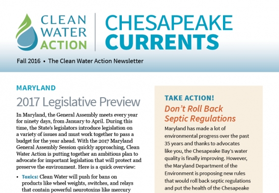 Chesapeake Currents - Fall 2016