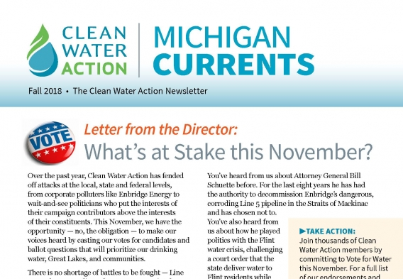 Michigan Currents -- Fall 2018