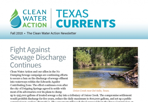 Texas Currents -- Fall 2018